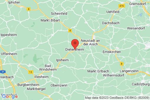 Karte Dietersheim