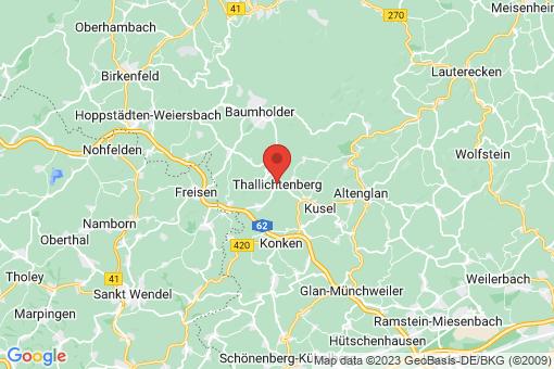 Karte Thallichtenberg