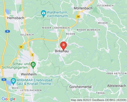 Google Karte von Rohrreinigung Birkenau