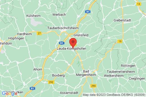 Karte Lauda-Königshofen