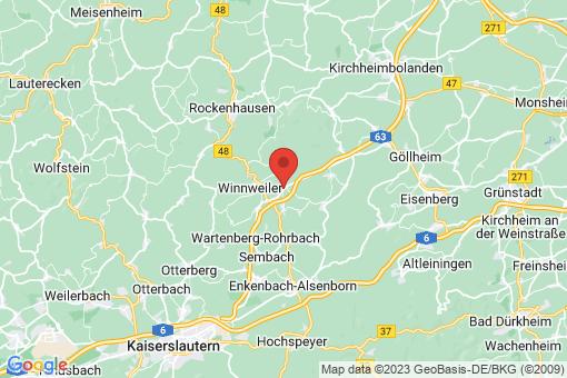 Karte Alsenbrück-Langmeil