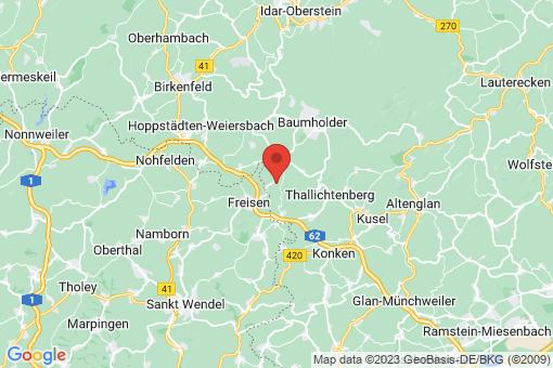 Karte Eckersweiler