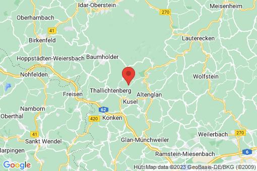 Karte Blaubach