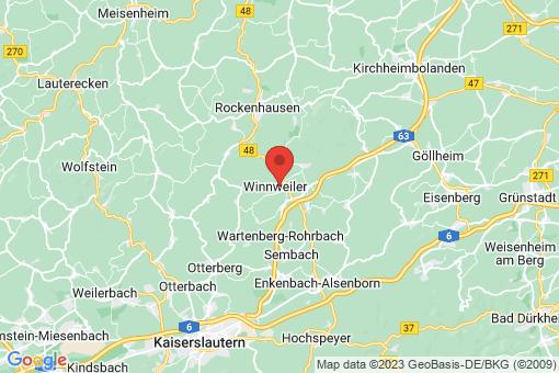 Karte Winnweiler