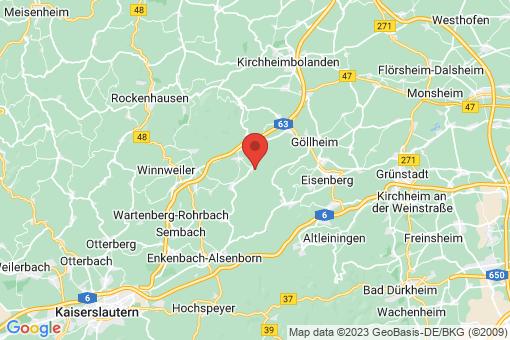 Karte Breunigweiler
