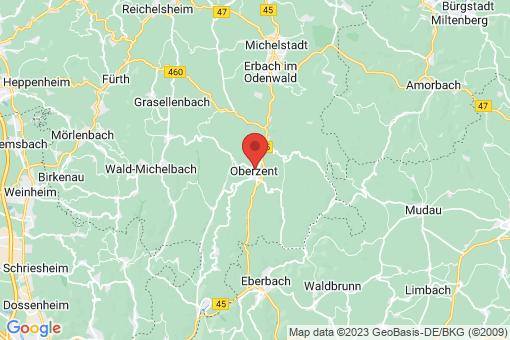 Karte Beerfelden