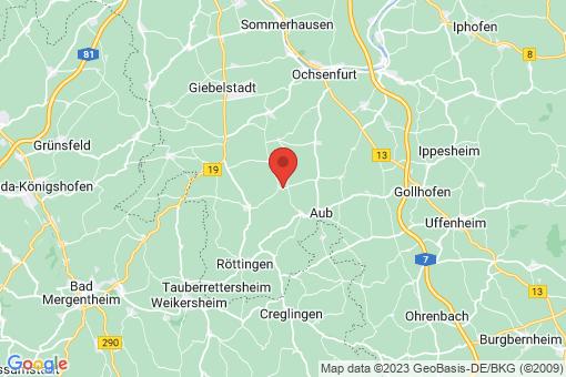 Karte Gelchsheim