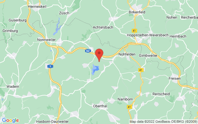 Karte Nohfelden