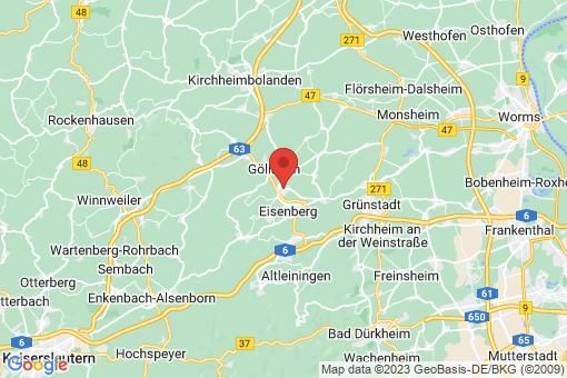 Karte Kerzenheim
