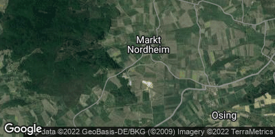 Google Map of Markt Nordheim