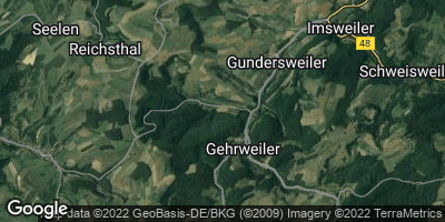 Google Map of Gehrweiler