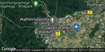 Google Map of Walldürn / Storchhof