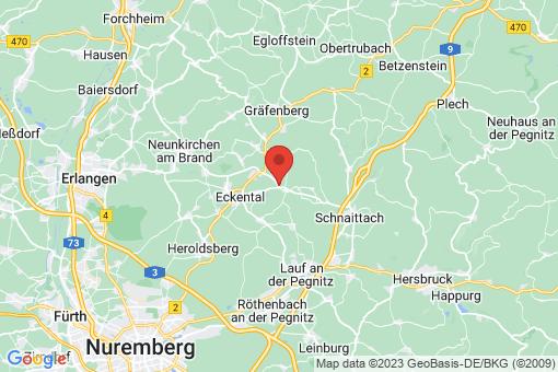 Karte Eckental