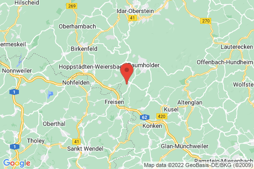 Karte Fohren-Linden