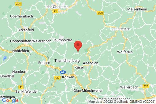 Karte Oberalben