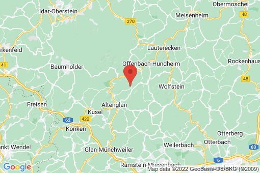 Karte Welchweiler