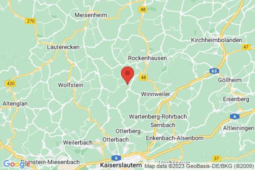 Karte Gehrweiler