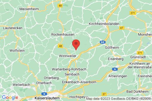 Karte Imsbach