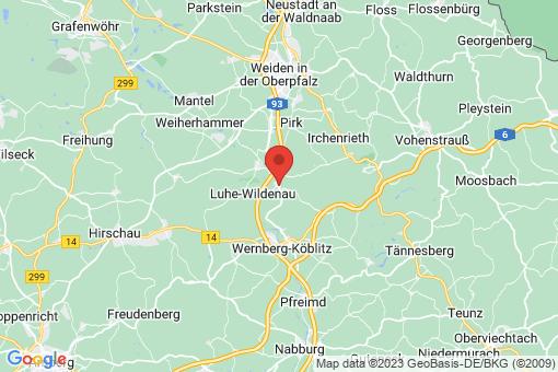 Karte Luhe-Wildenau