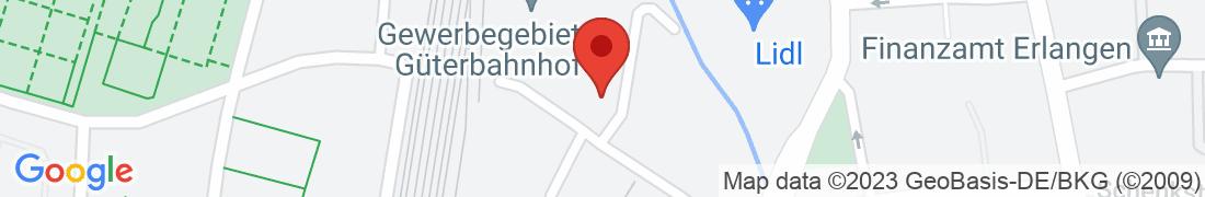 BayWa Technik Erlangen Anfahrt