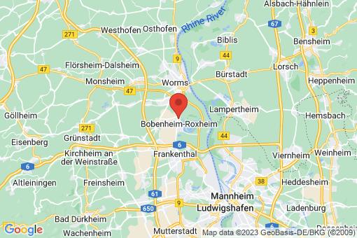 Karte Bobenheim-Roxheim