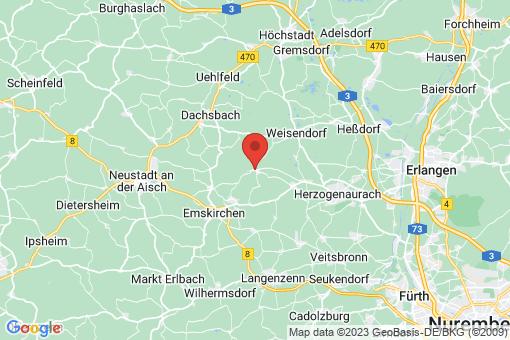 Karte Oberreichenbach