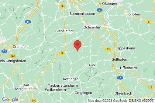Karte Sonderhofen