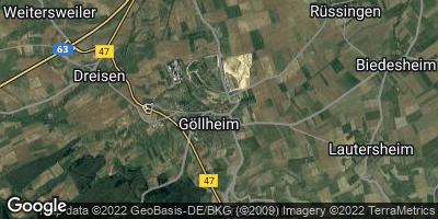 Google Map of Göllheim