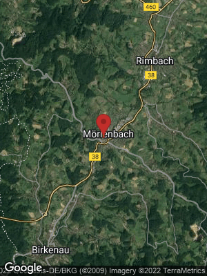 Google Map of Mörlenbach