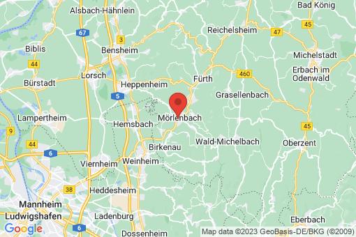 Karte Mörlenbach