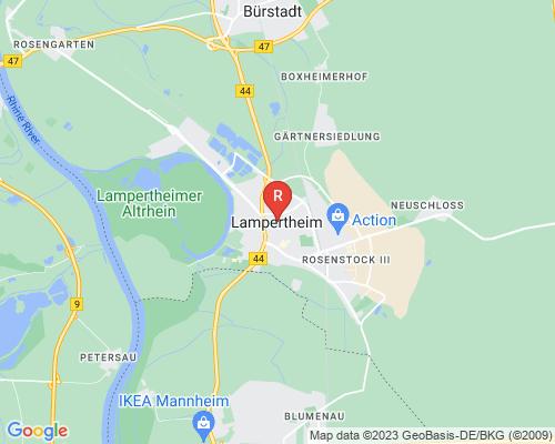 Google Karte von Rohrreinigung Lampertheim