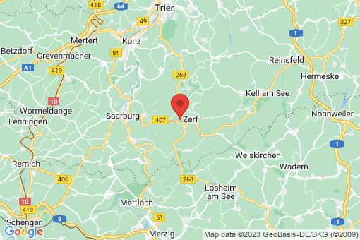 Karte Vierherrenborn