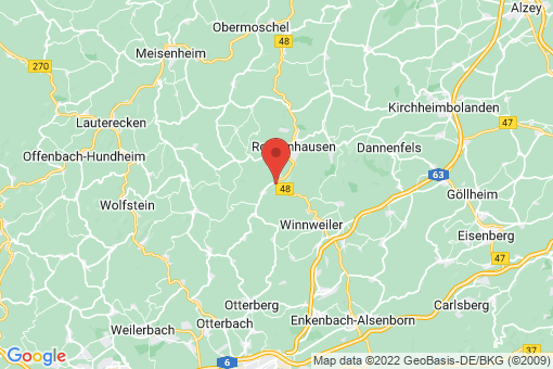 Karte Imsweiler