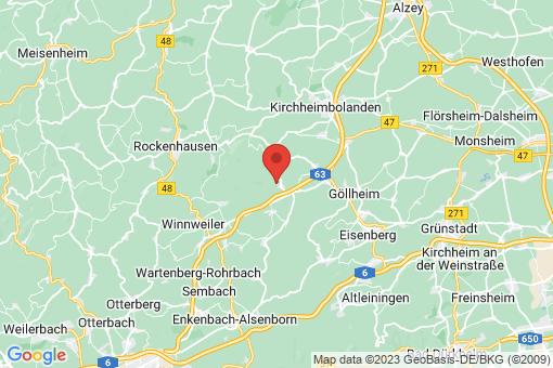 Karte Steinbach am Donnersberg