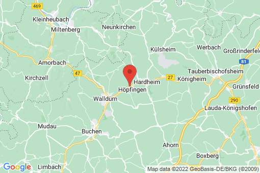 Karte Höpfingen