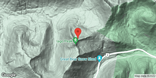 Iago and Great Bear Peak