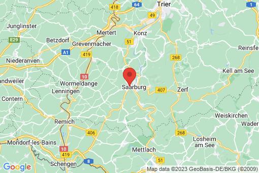 Karte Saarburg