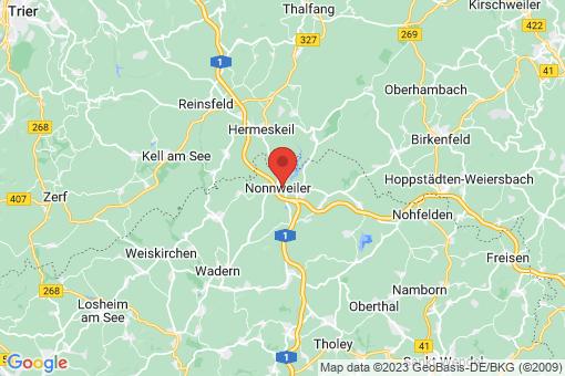 Karte Nonnweiler