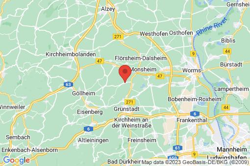 Karte Kindenheim
