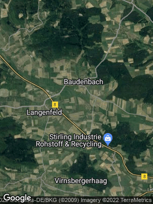 Google Map of Baudenbach