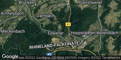 Google Map of Ellweiler