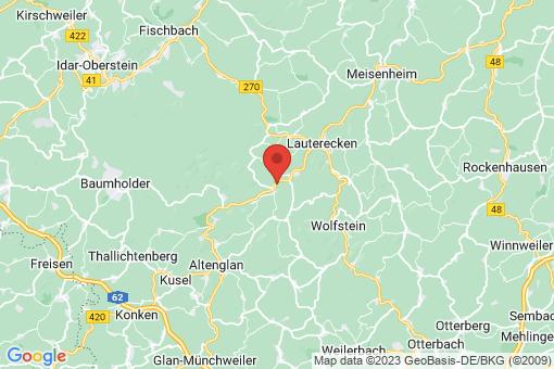 Karte Glanbrücken