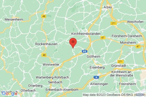 Karte Jakobsweiler