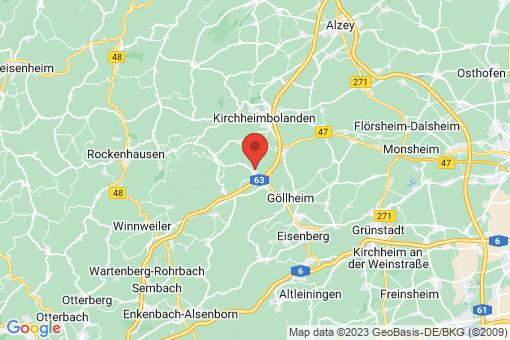 Karte Weitersweiler