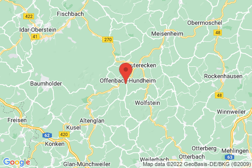Karte Offenbach-Hundheim