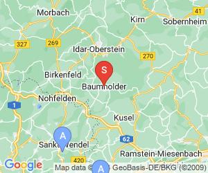 Karte für Hochseilgarten Baumholder
