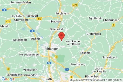 Karte Marloffstein