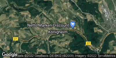 Google Map of Königheim
