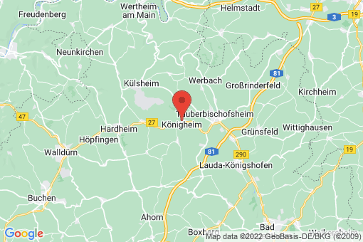 Karte Königheim