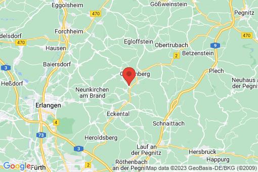Karte Igensdorf
